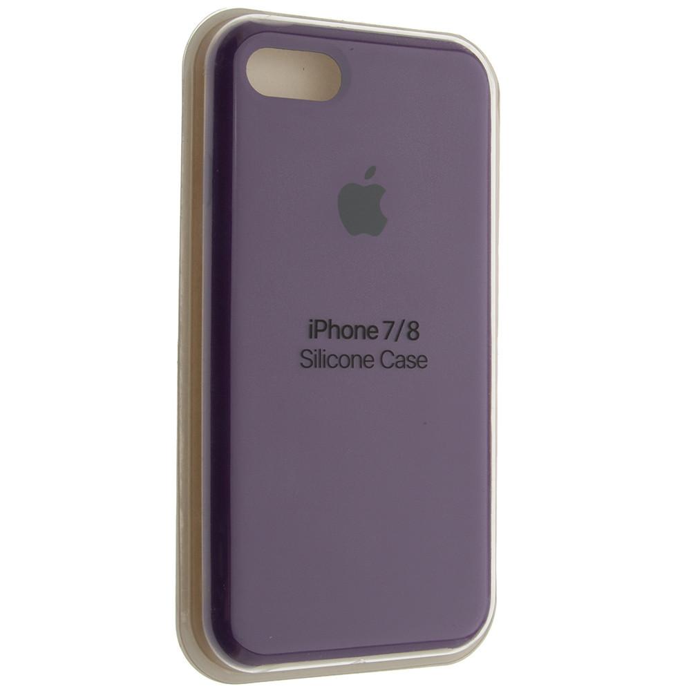 "Чехол Silicon iPhone 7 Plus - ""Пурпурный №45"""