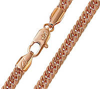 Цепочка Xuping № 193. Золото (розовое покрытие)  49 см х 5 мм