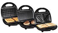 Вафельница-бутербродница-гриль 3в1 SilverCrest, фото 1