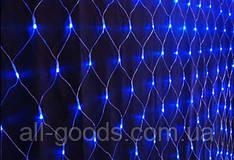 Гирлянда светодиодная Xmas 120P NET B сетка синяя