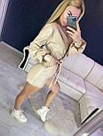 Женский стильный комбинезон ромпер из эко-кожи (в расцветках), фото 3