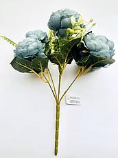 Искусственный букет пионов ( 27 см), фото 2