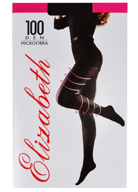 Колготки Elizabeth 100 den microfibre Visone р.5 (00124)   5 шт.