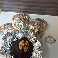 Греческие конфеты шоколадные Апельсин грецкий орех Laurence