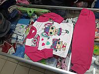 Пижама детская для девочки интерлок р. 92 - 122