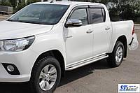 Toyota Hilux (15+) боковые пороги подножки площадки на для Тойота Хайлюкс Toyota Hilux (15+) d51х1,6мм