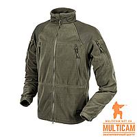 Куртка флисовая Helikon-Tex® STRATUS® Jacket - Heavy Fleece - Taiga Green XL