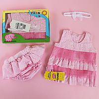 Туника для новорожденной набор размер 68,80