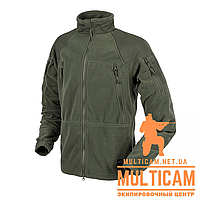 Куртка флисовая Helikon-Tex® STRATUS® Jacket - Heavy Fleece - Olive Green S