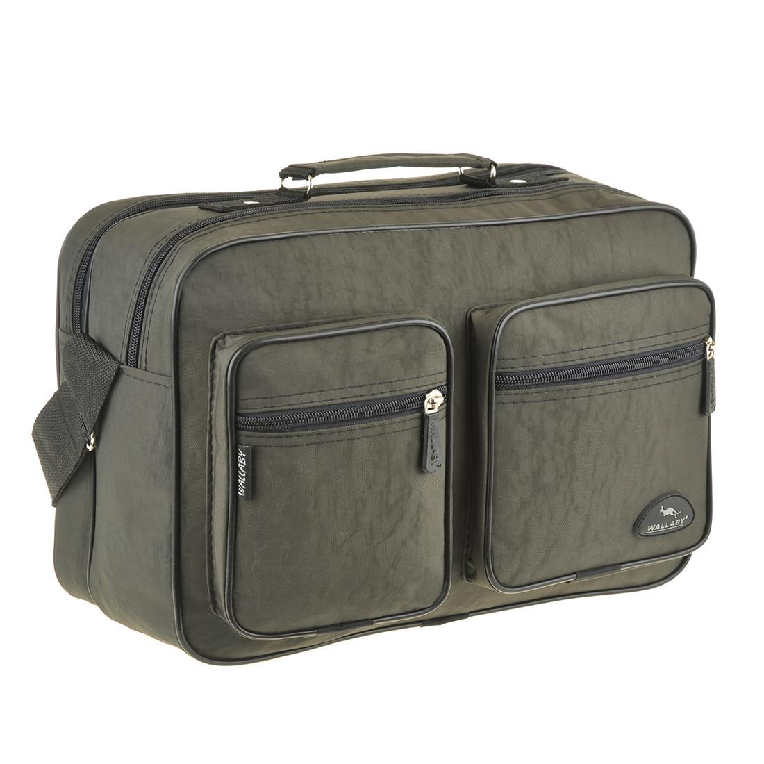 Мужская сумка Wallaby 35х24х14 ткань кринкл, 2 отделения  в 2647х