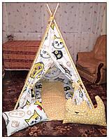 Вигвам детская игровая палатка.