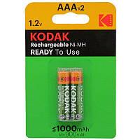 Аккумулятор Kodak Ni-MH R03 \ AAA 1000 mAh БЛ1х2 шт. мини пальчик