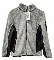 F1-00649, Жіноча штани, кофта Creek River, батник, жіночий, сірий-чорний