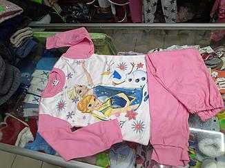 Пижама детская для девочки Холодное Сердце р. 92 - 104