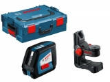 Лазерный нивелир Bosch GLL 2-50 + BM1 + LR2 L-Boxx