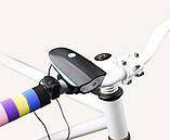 Фонарь велосипедный со звуковым сигналом 7588, фото 3