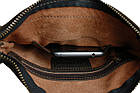 Сумка мужская кожаная планшетка SULLIVAN smvp60(22) коричневая, фото 5