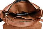 Сумка мужская кожаная на плечо SULLIVAN smvp83(30) светло-коричневая, фото 10