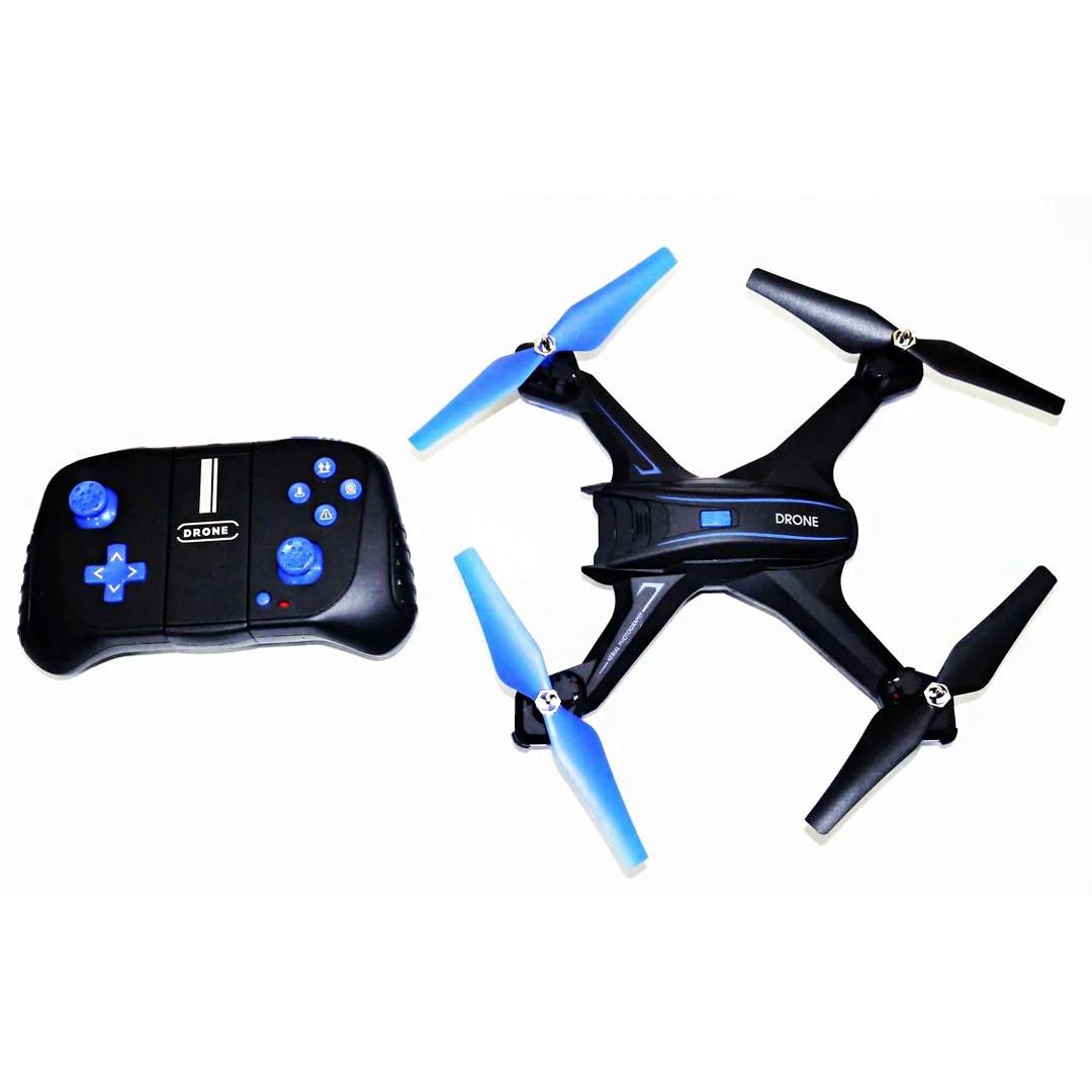 Квадрокоптер c WiFi камерой S6HW (Дальность действия: 100 метров, транслирующая на телефон, HD сьемка)