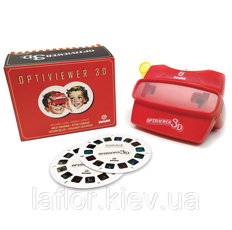 3D Оптивьювер (3D очки) ТМ Svoora + 2 котушки, фото 2