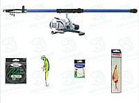 """Набір риболовний все в одному """"Щука-судак"""" універсальний 5-25гр., 2.7м, готовий до використання"""