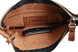 Сумка мужская кожаная планшетка SULLIVAN smvp77(25) светло-коричневая, фото 8