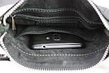 Сумка мужская кожаная планшетка SULLIVAN smvp92(20) черная, фото 2