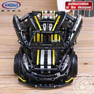 Конструктор XingBao Car Series XB-07002 Balisong small Supercar 1177 деталей.+Видео Обзор., фото 2