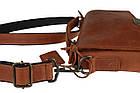 Сумка мужская кожаная барсетка с ручкой SULLIVAN smvp101(35) светло-коричневая, фото 8