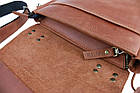 Сумка мужская кожаная барсетка с ручкой SULLIVAN smvp101(35) светло-коричневая, фото 10