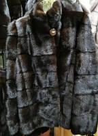 Шуба натуральная скандинавская норка-автоледи 70см, фото 1