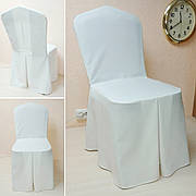 Чехол на стул Трапеция из прочной лёгкой ткани Шампань