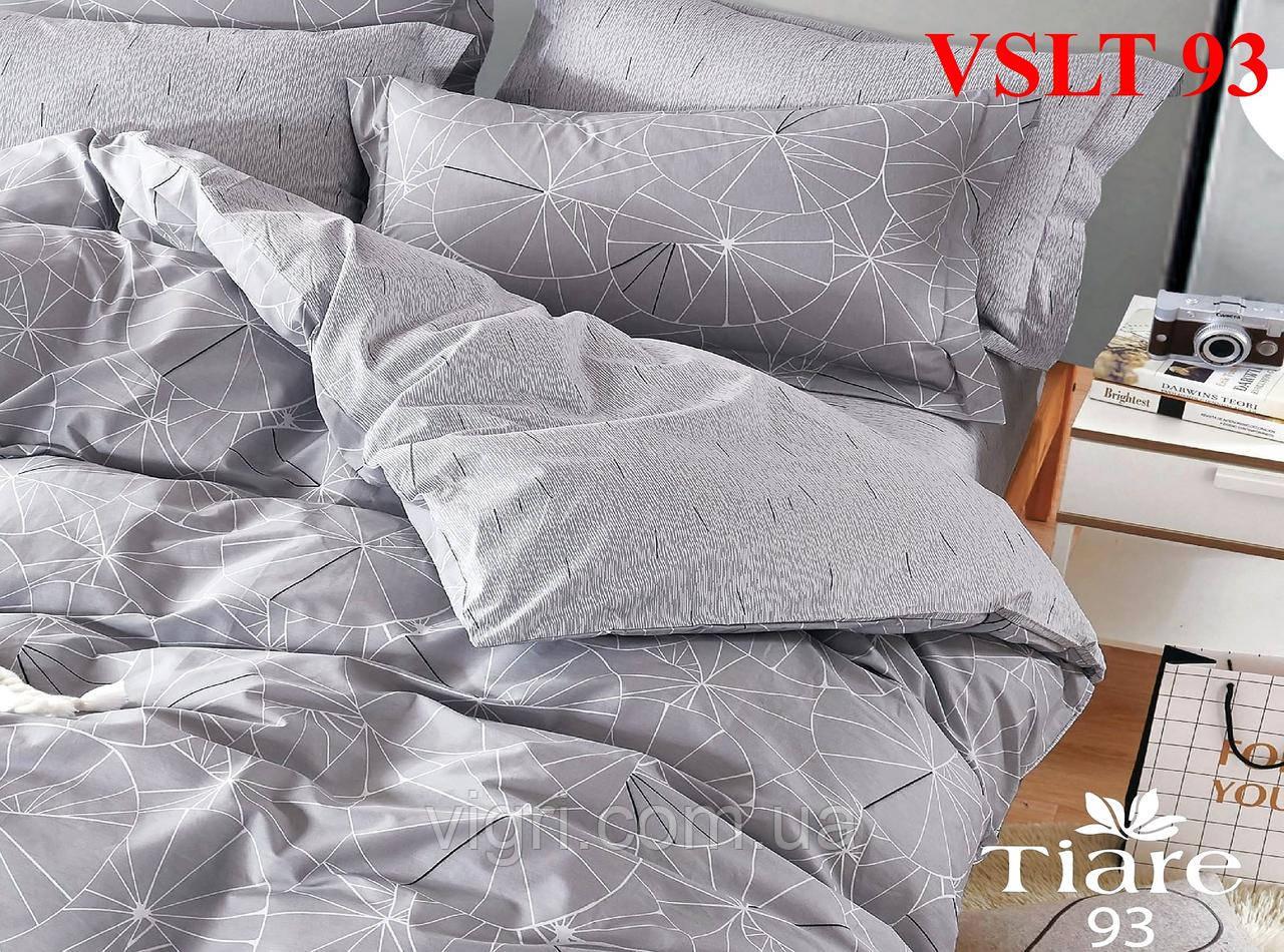 Постельное белье евро, сатин люкс Tiare Вилюта. VSLT Т93