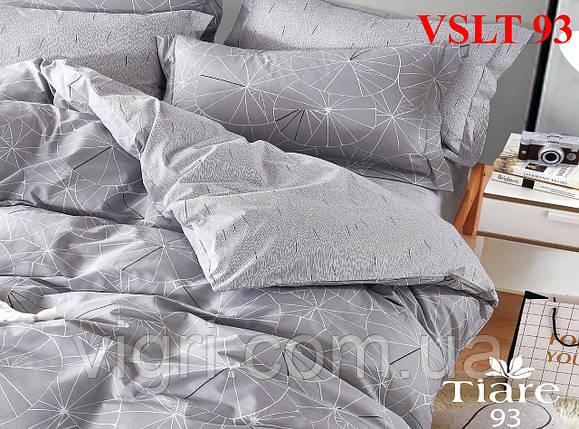 Постельное белье евро, сатин люкс Tiare Вилюта. VSLT Т93, фото 2