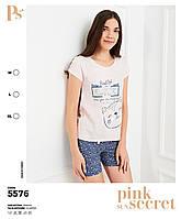 Пижама шорты+футболка  Pink Secret