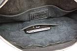 Сумка мужская для документов большая кожаная А4 SULLIVAN smg24(46) черная, фото 8