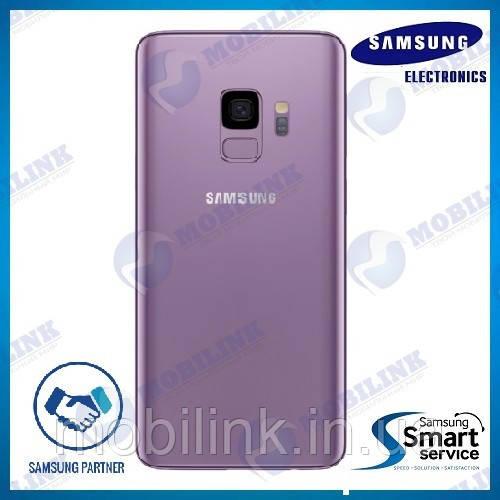 Крышка задняя Samsung SM-G960 Galaxy S9, Фиолетовая Lilac Purple, GH82-15926B, оригинал!
