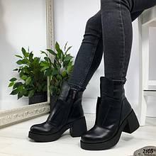 Женские демисезонные ботинки ботильоны