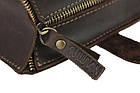 Сумка жіноча шкіряна велика шопер SULLIVAN sg5(40) коричнева, фото 5