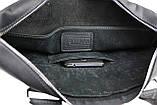 Сумка мужская  для документов большая кожаная А4 SULLIVAN smg12(45) черная, фото 8