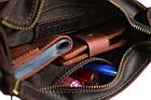 Сумка женская кожаная маленькая клатч  SULLIVAN sg21(25) коричневая, фото 6