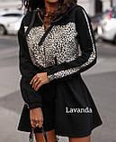 Платье женское чёрное, красное, кэмэл, 42-44, 46-48, 50-52, фото 6