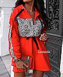 Платье женское чёрное, красное, кэмэл, 42-44, 46-48, 50-52, фото 3
