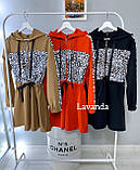 Платье женское чёрное, красное, кэмэл, 42-44, 46-48, 50-52, фото 8