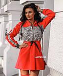 Платье женское чёрное, красное, кэмэл, 42-44, 46-48, 50-52, фото 2