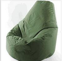 Кресло мешок чехол мягкое бескаркасное    оптом оливковый хакки цвет  оксворд 600д без наполнителя 80 на 130