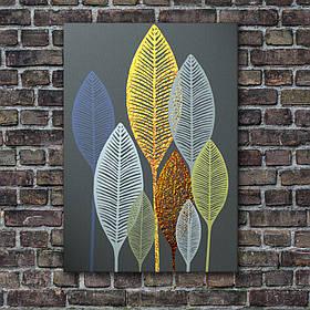 """Постер """"Золоті листя"""""""