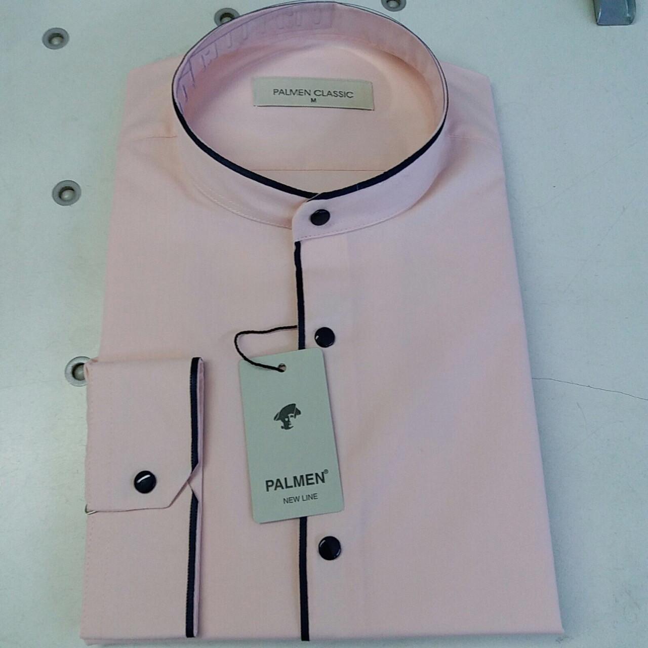 Акция!!! Рубашка однотонная Palmen - стойка