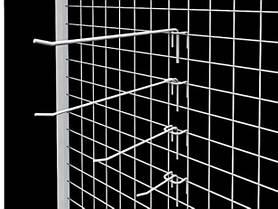 Крючки на сетку, кронштейны, флейты, корзины, полки (Все для сетки)