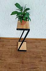 Металлическая подставка для цветов и декора в стиле Loft 760 (Z), фото 2